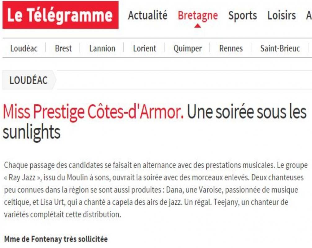 Article miss prestige