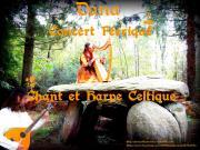 Chant et harpe celtique eglise du graal