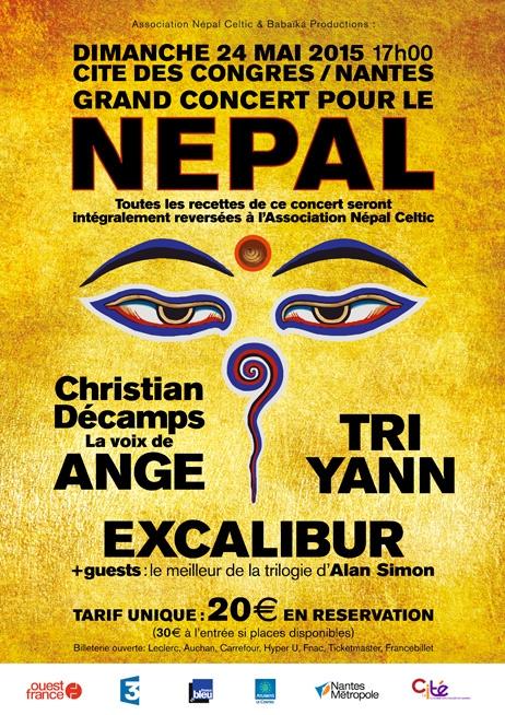 Concert pour le nepal nantes 24 mai 2015