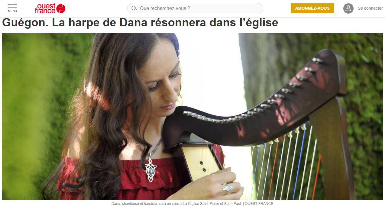 Dana concert guegon
