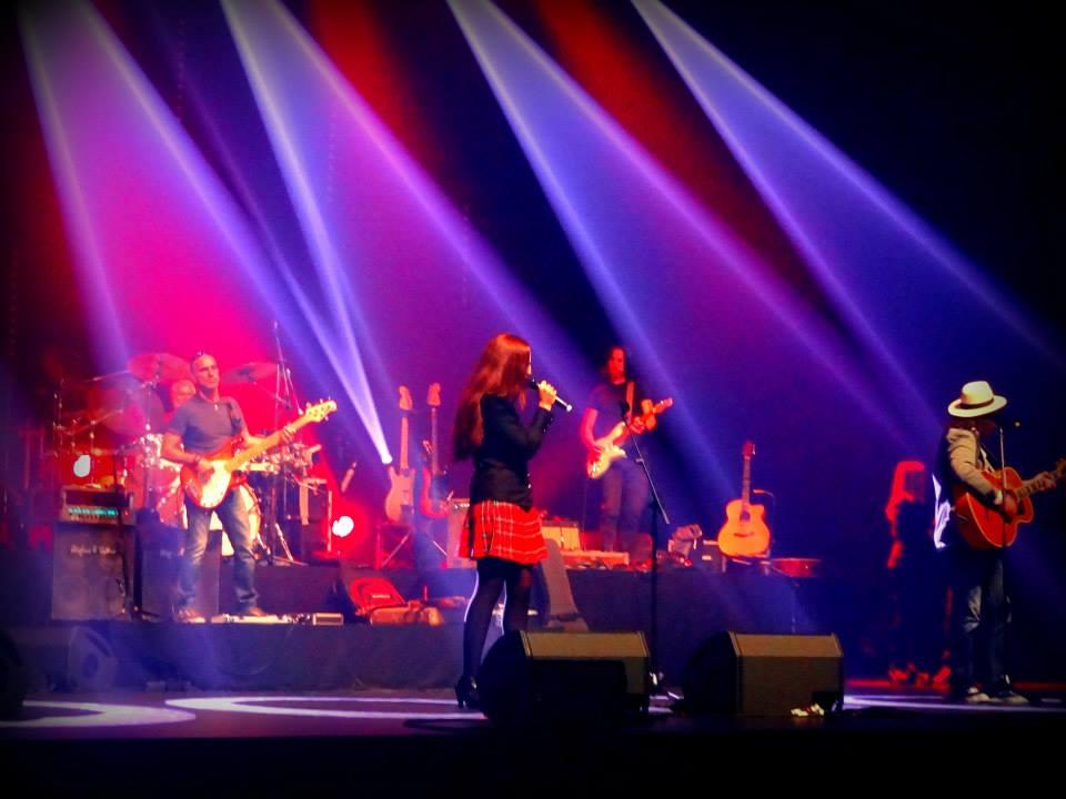Dana concert pour le nepal 8
