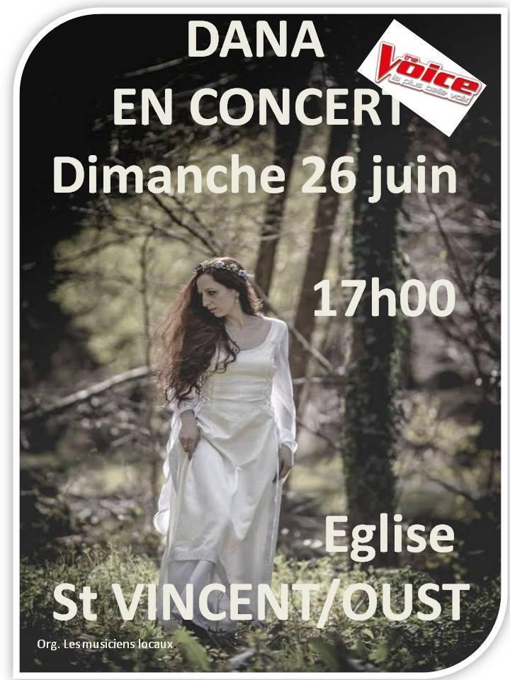 Dana concert saint vincent sur oust