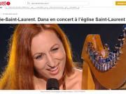 Dana en concert a l eglise saint laurent