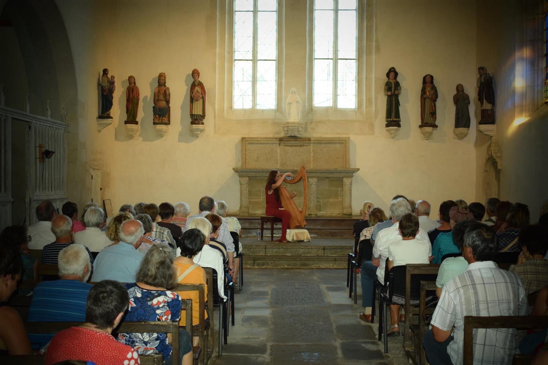 Dana en concert a questemberg chapelle saint michel