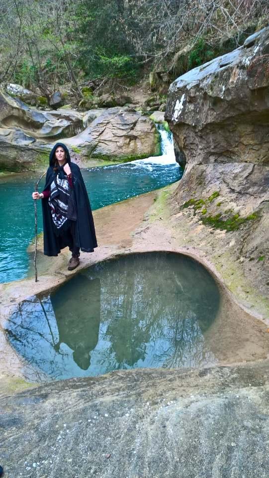 Dana et le fontaine des amoureux