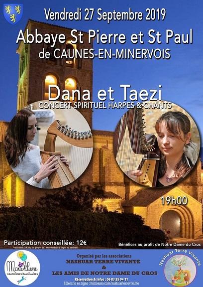 Dana et taezi abbaye de caunes minervois 1
