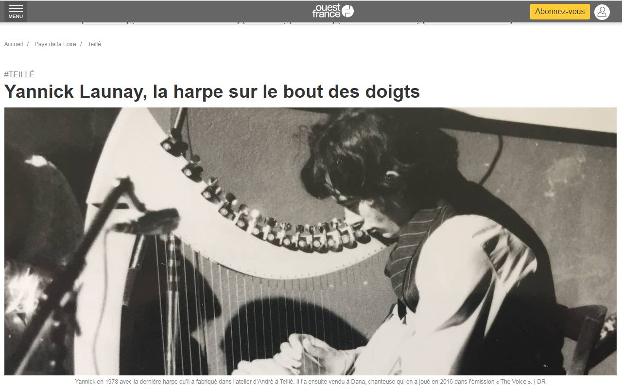 Dana harpe yannick launay
