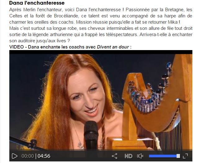 Dana l anchanteresse