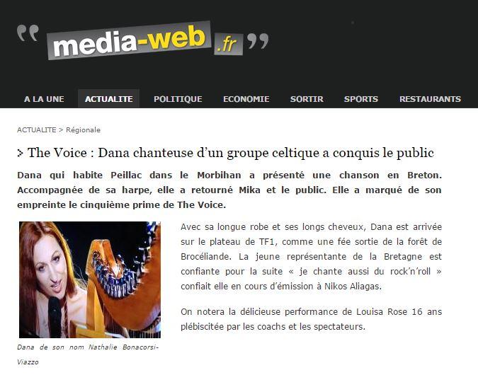 Dana media web