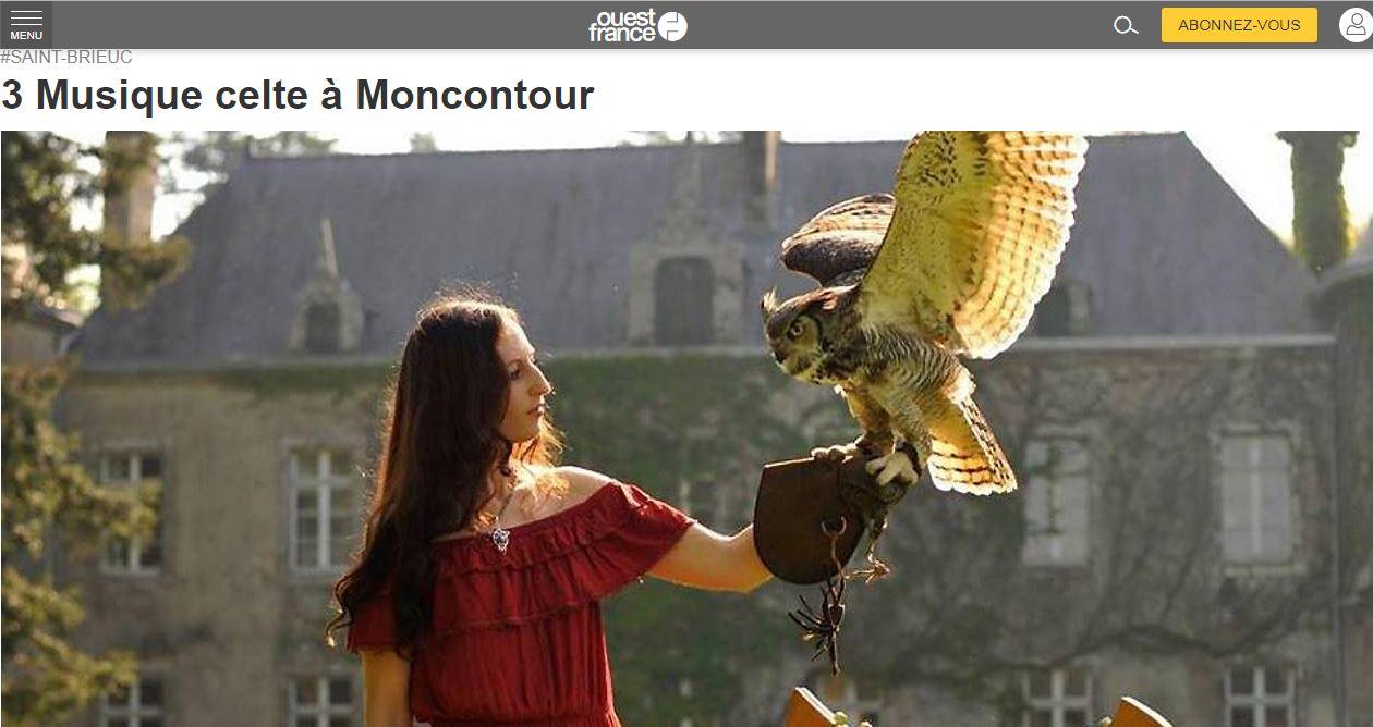 Musique celte à Moncontour