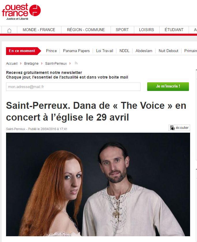 Dana ouest france saint perreux