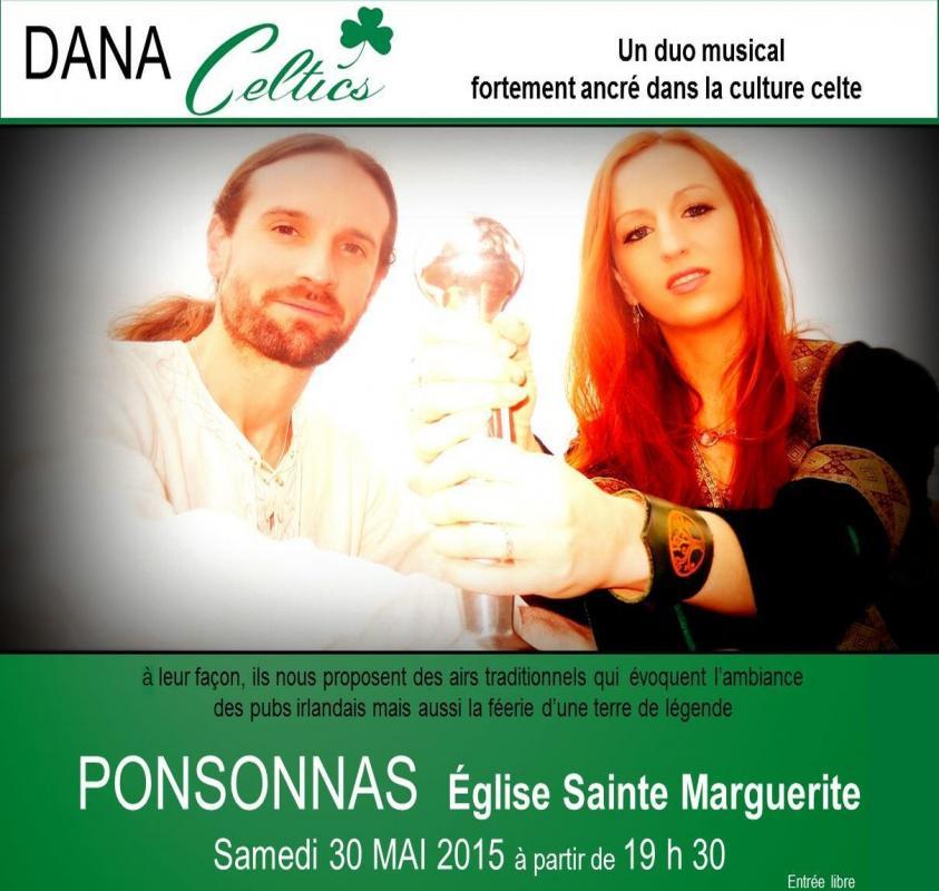 Dana, concert de ponsonnas