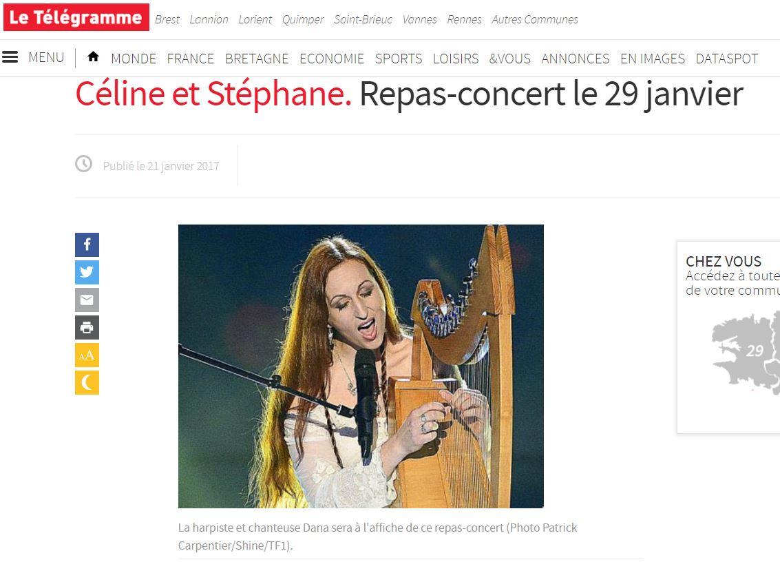 Dana repas concert association leucemie espoir