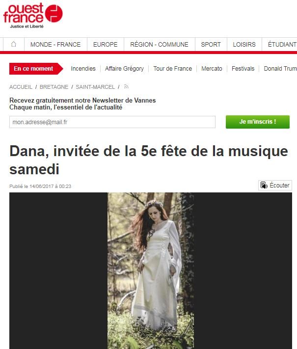 Dana saint marcel