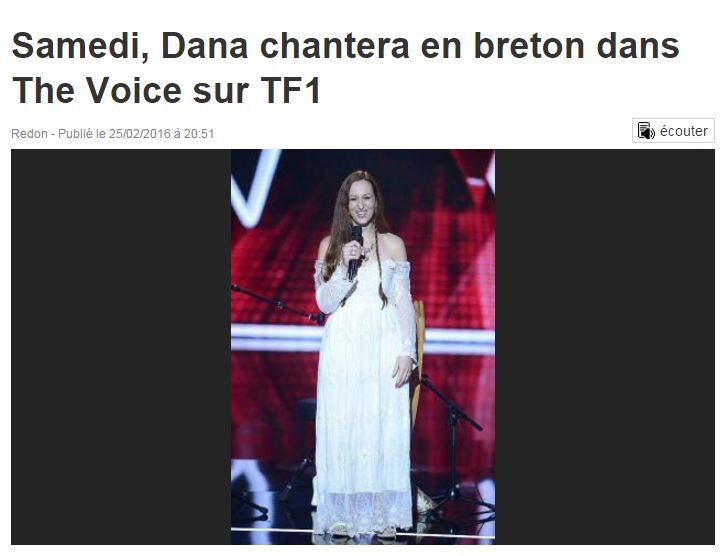 Dana the voice 2