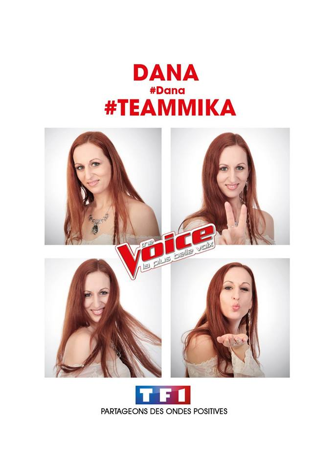 Dana the voice 2016 auditions a l aveugle 10