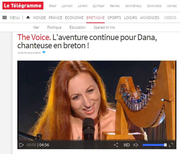 Dana the voice l aventure continue