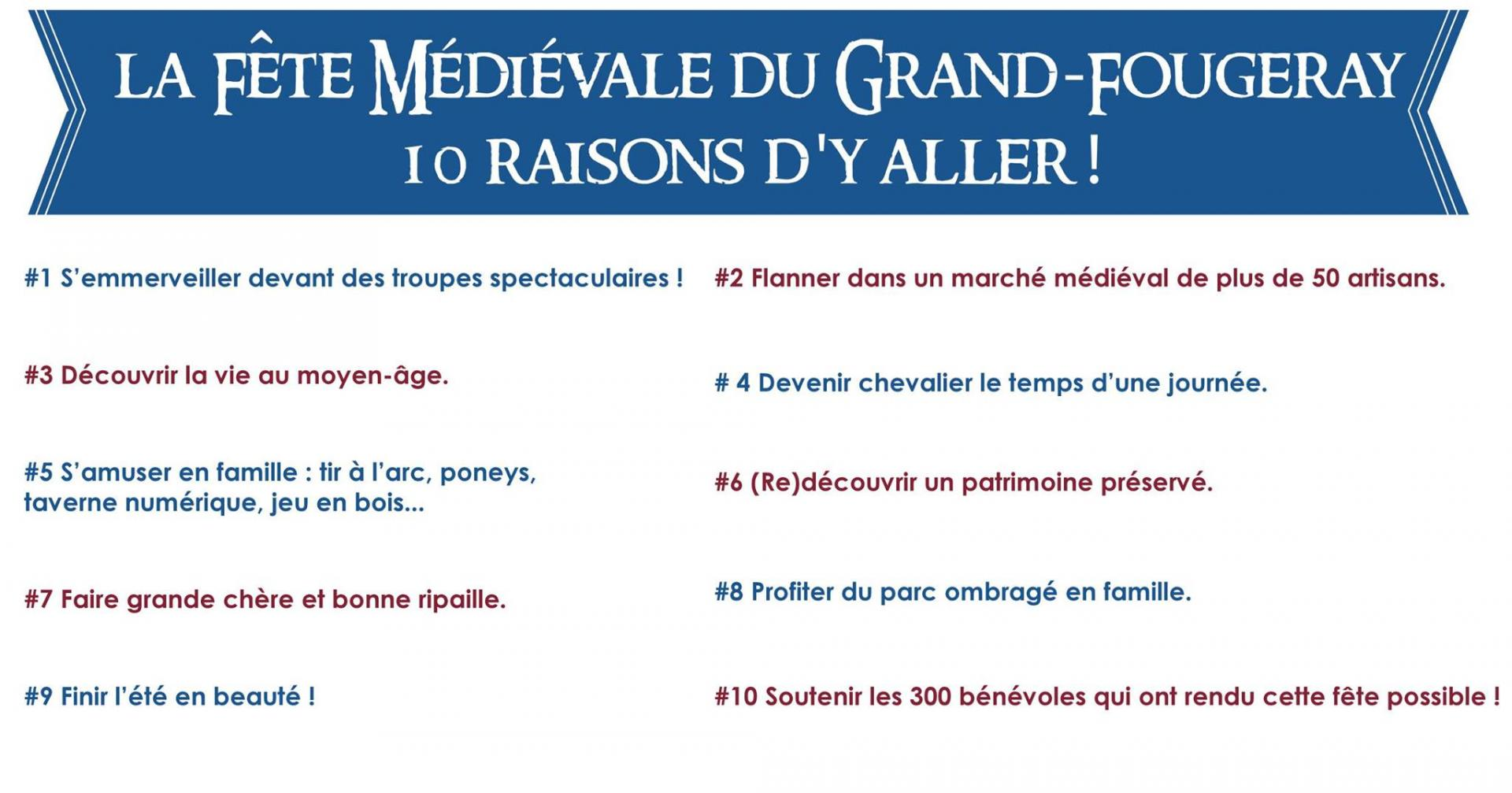 Fete medievale grand fougeray