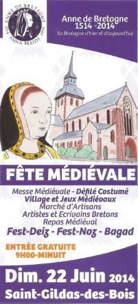 Fete medievale saint gildas des bois