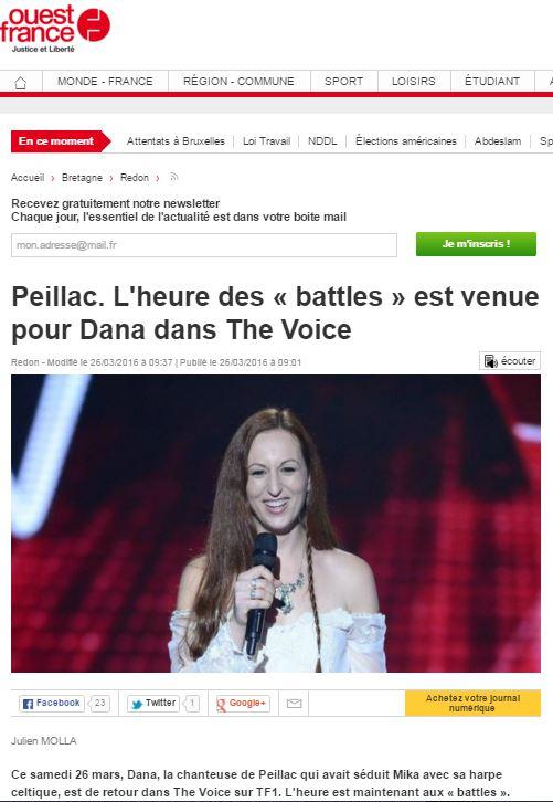 L heure des battles dana ouest france