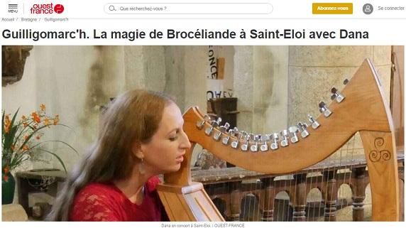 La magie de broceliande a saint eloi avec dana 1