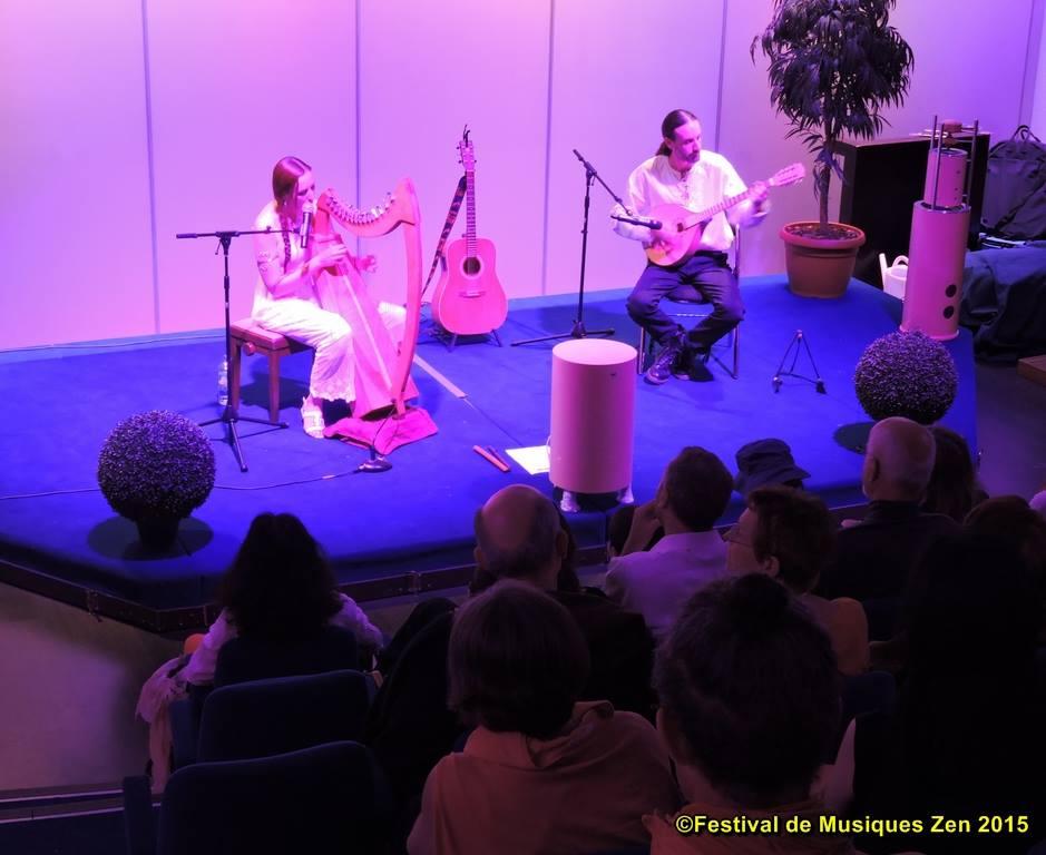 Le groupe dana au festival de musique zen de lyon